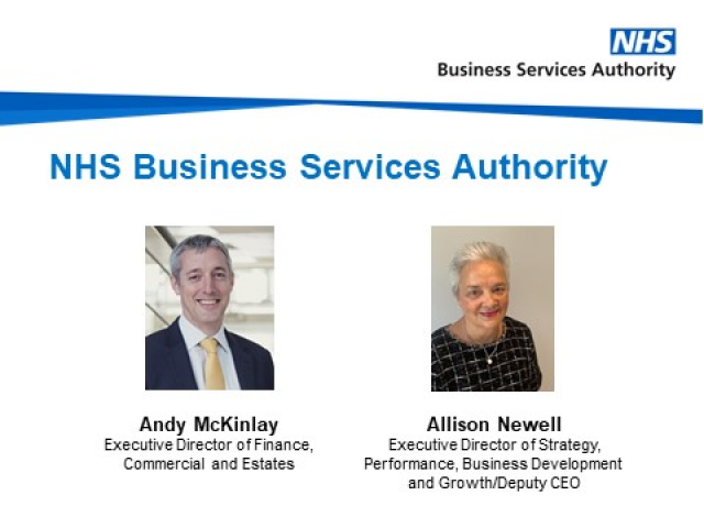 An introduction to the NHS Business Services Authority