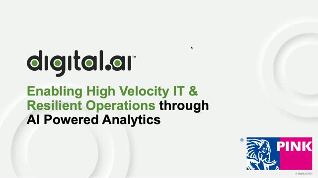 How to Achieve Resilient & High Velocity IT Ops through AI-powered Analyticst