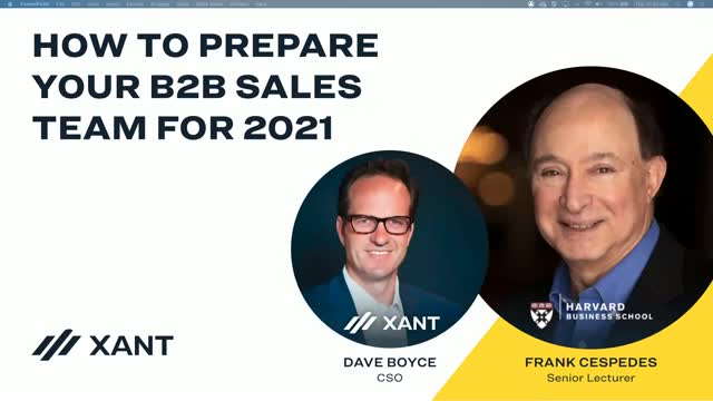 How to Prepare Your B2B Sales Team For 2021