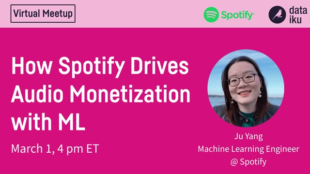 How Spotify Drives Audio Monetization with Machine Learning