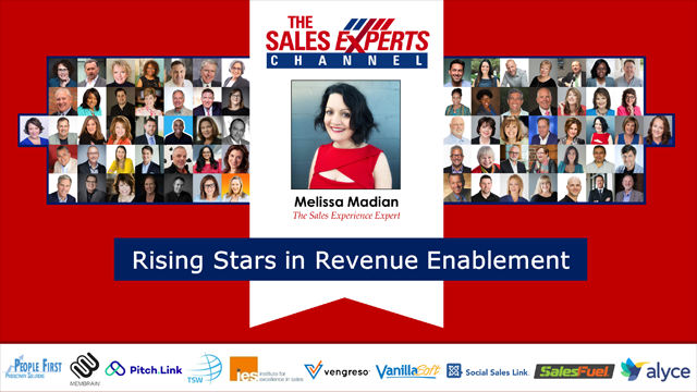 Rising Stars in Revenue Enablement - Part 1