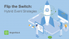 Flip the Switch: Hybrid Event Strategies