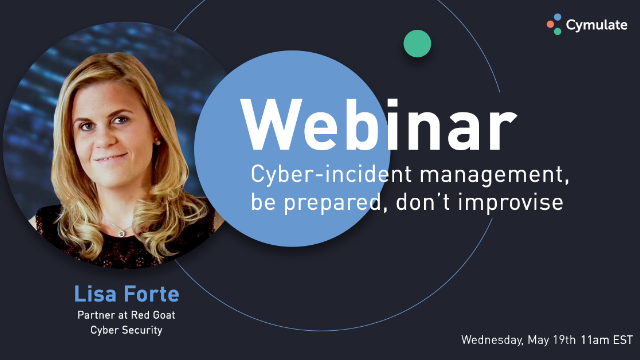 Cyber-incident management, be prepared, don't improvise