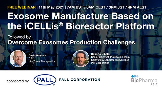 Exosome Manufacture Based on the iCELLis® Bioreactor Platform