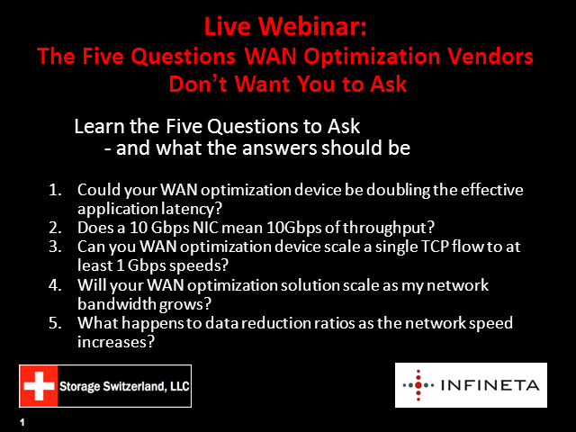 The Five Questions WAN Optimization Vendors Don't Want You to Ask
