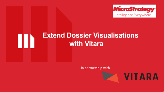 Extend Dossier Visualizations with Vitara