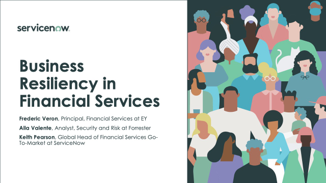 Business Resiliency in Financial Services