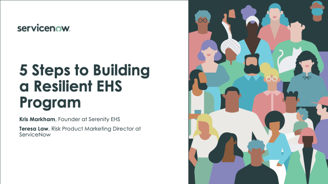 5 Steps to Building a Resilient EHS Program