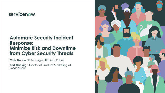 Automate Security Incident Response: Minimize Risk and Downtime from Threats