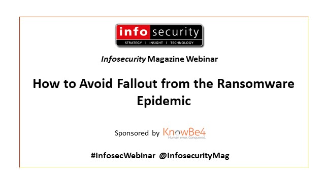 Avoiding Fallout from the Ransomware Epidemic