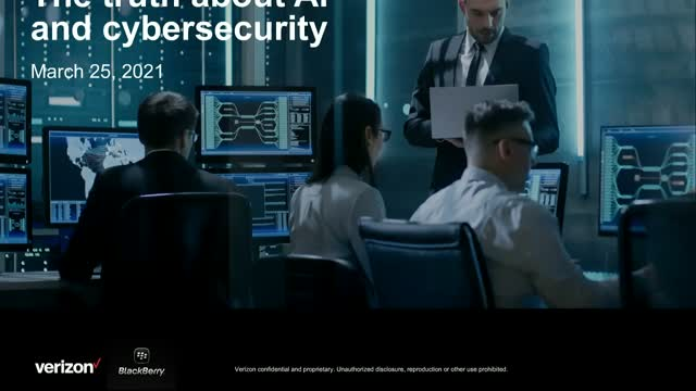 Verizon Cyber Risk Roundtable Series Ep. 2 The truth about AI and cybersecurity