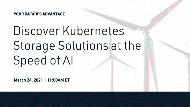 Discover Kubernetes Storage Solutions at the Speed of AI