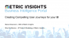 Creating Compelling User Journeys for your BI