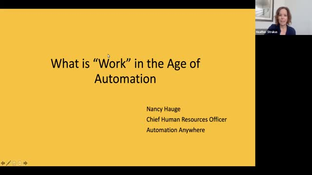 Robotic Process Automation – CHRO Insights with Nancy Hauge