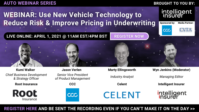 Use New Vehicle Technology to Reduce Risk & Improve Pricing in Underwriting