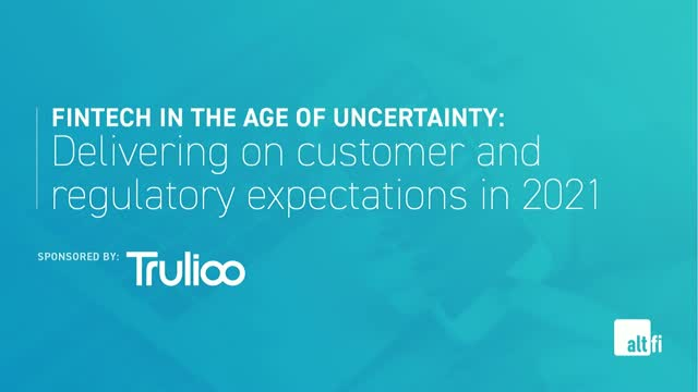 Delivering on customer and regulatory expectations in 2021