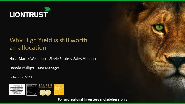 Liontrust Views - Where is the value in High Yield?