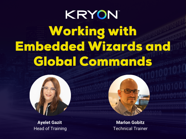 Working with Embedded Wizards & Global Functions