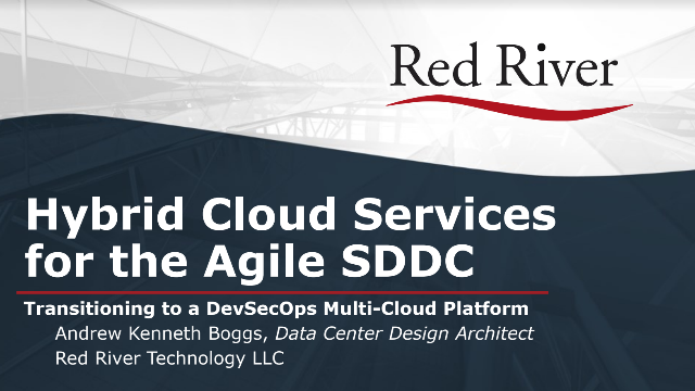 Hybrid Cloud Services for the Agile SDDC