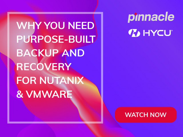 Why You Need Purpose-built Backup and Recovery for Nutanix & VMware