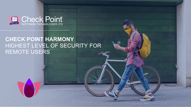 Check Point Harmony: Highest Level of Security for Remote Users (Americas)
