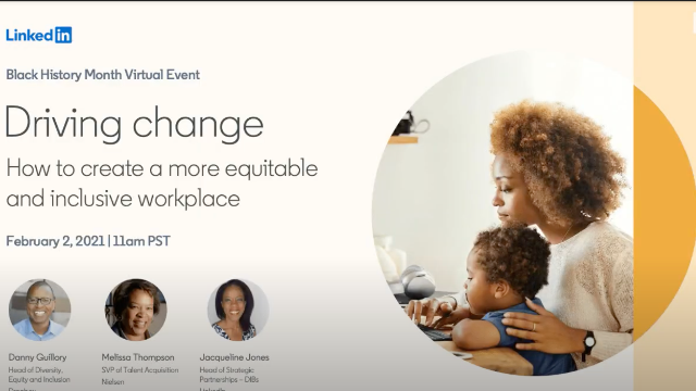Driving Change: How to create a more equitable and inclusive workplace