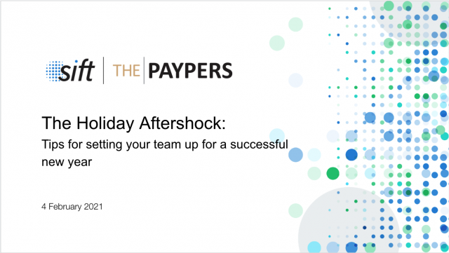 The Holiday Aftershock: Tips for setting your team up for a successful new year