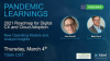Pandemic Learnings. Your 2021 Roadmap for Digital CX and Cloud Adoption