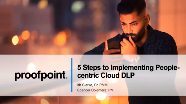 5 Steps to Building a Successful Cloud DLP Solution