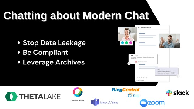 Chatting about Modern Chat: Stop Data Leakage, Be Compliant, Leverage Archives