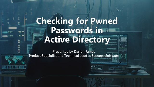 Checking for Pwned Passwords in Active Directory
