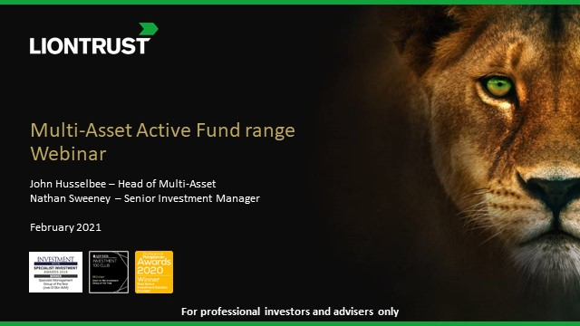 Active Funds in the age of Covid-19, recovery & long-term 'normality' (UK ONLY)