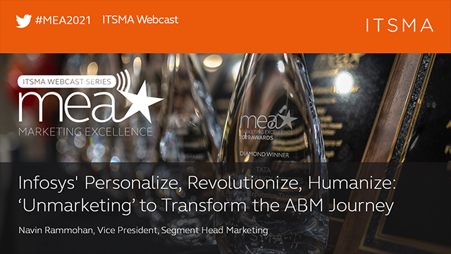 Personalize, Revolutionize, Humanize: 'Unmarketing' to Transform the ABM Journey
