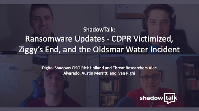 Podcast: CDPR Victimized, Ziggy's End, and the Oldsmar Water Incident