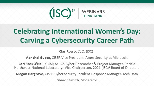 Celebrating International Women's Day: Carving a Cybersecurity Career Path