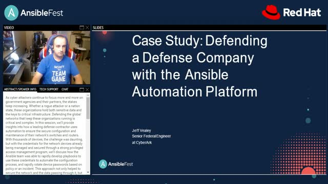 Case study: Defending a defense company with Ansible Automation