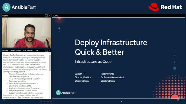 Deploy infrastructure better and more quickly