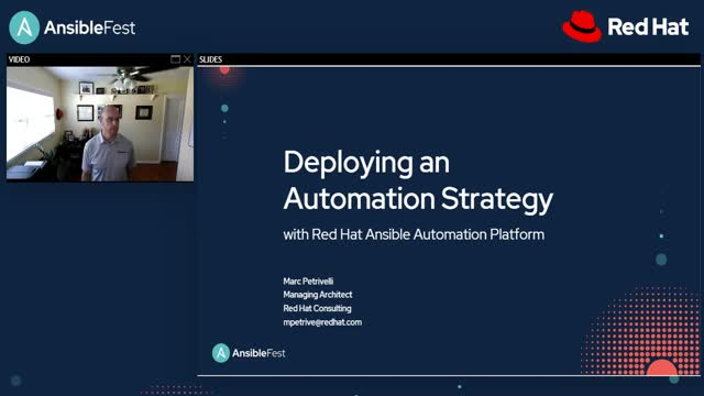 Deploying an automation strategy with Ansible Automation Platform