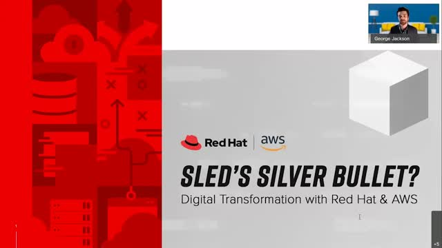 SLED's Silver Bullet? Digital Transformation with Red Hat & AWS