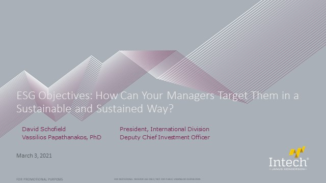 ESG Objectives: How Can Managers Target Them in a Sustainable and Sustained Way?