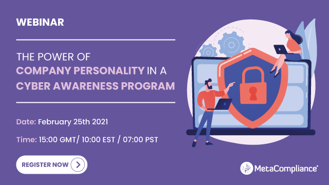 The Power of Company Personality in a Cyber Awareness Program