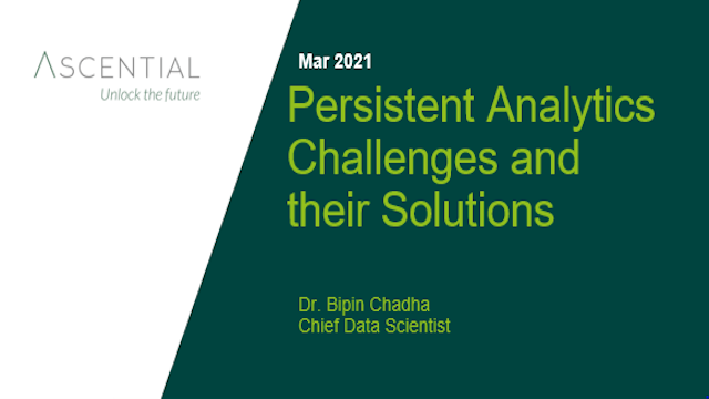 Persistent Analytics Challenges and their Solutions