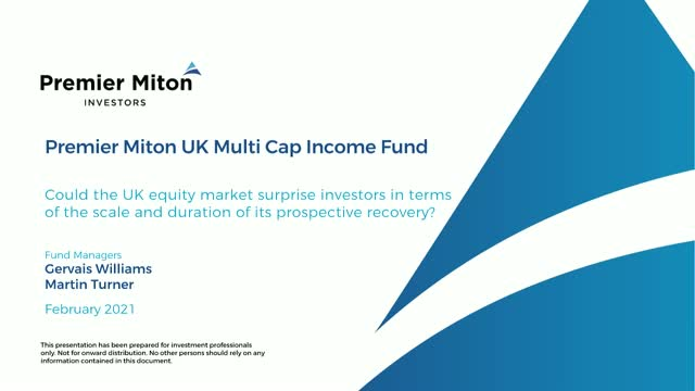 Opportunities in UK equity markets - webinar with Gervais Williams