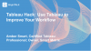 Tableau Hack: Use Tableau to Improve Your Workflow