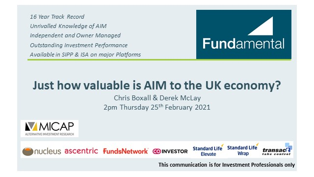 Just how valuable is AIM to the UK economy?