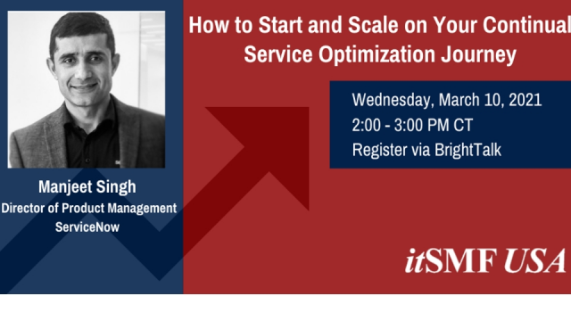 How to Start and Scale on Your 'Continual Service Optimization' Journey