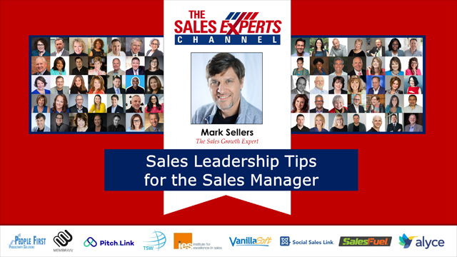 Sales Leadership Tips for the Sales Manager