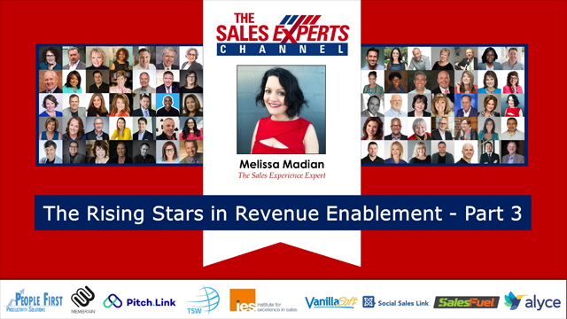 Rising Stars in Revenue Enablement - Part 3