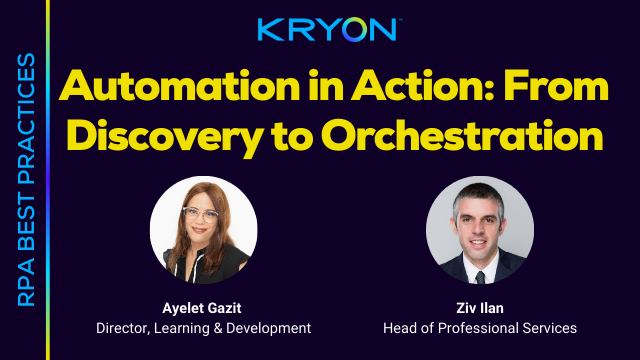 RPA Best Practices- From Discovery to Orchestration