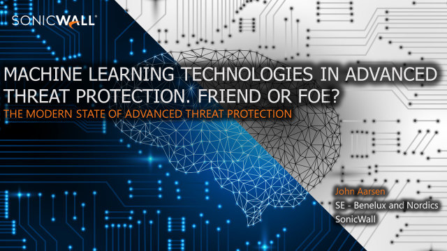 Machine Learning Technologies in Advanced Threat Protection. Friend or Foe?